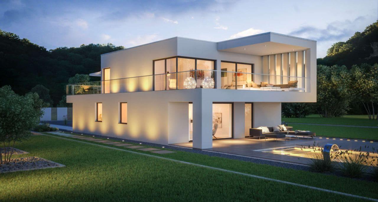 Красивые дома - фото лучших проектов 001