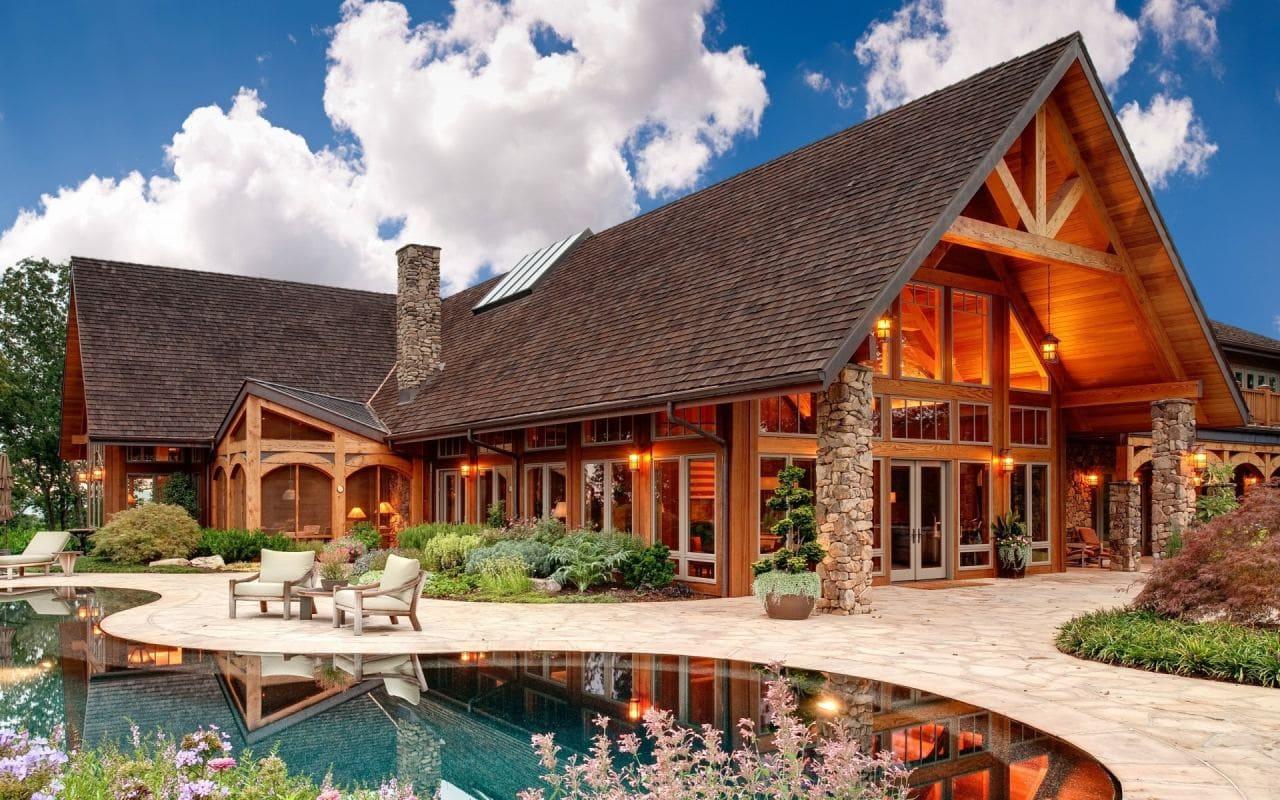 Красивые дома - фото лучших проектов 002
