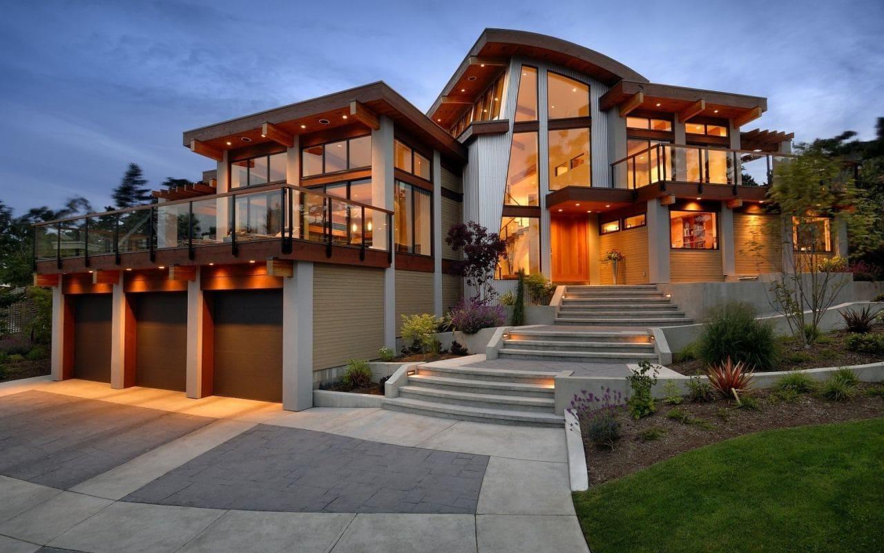 Красивые дома - фото лучших проектов 003