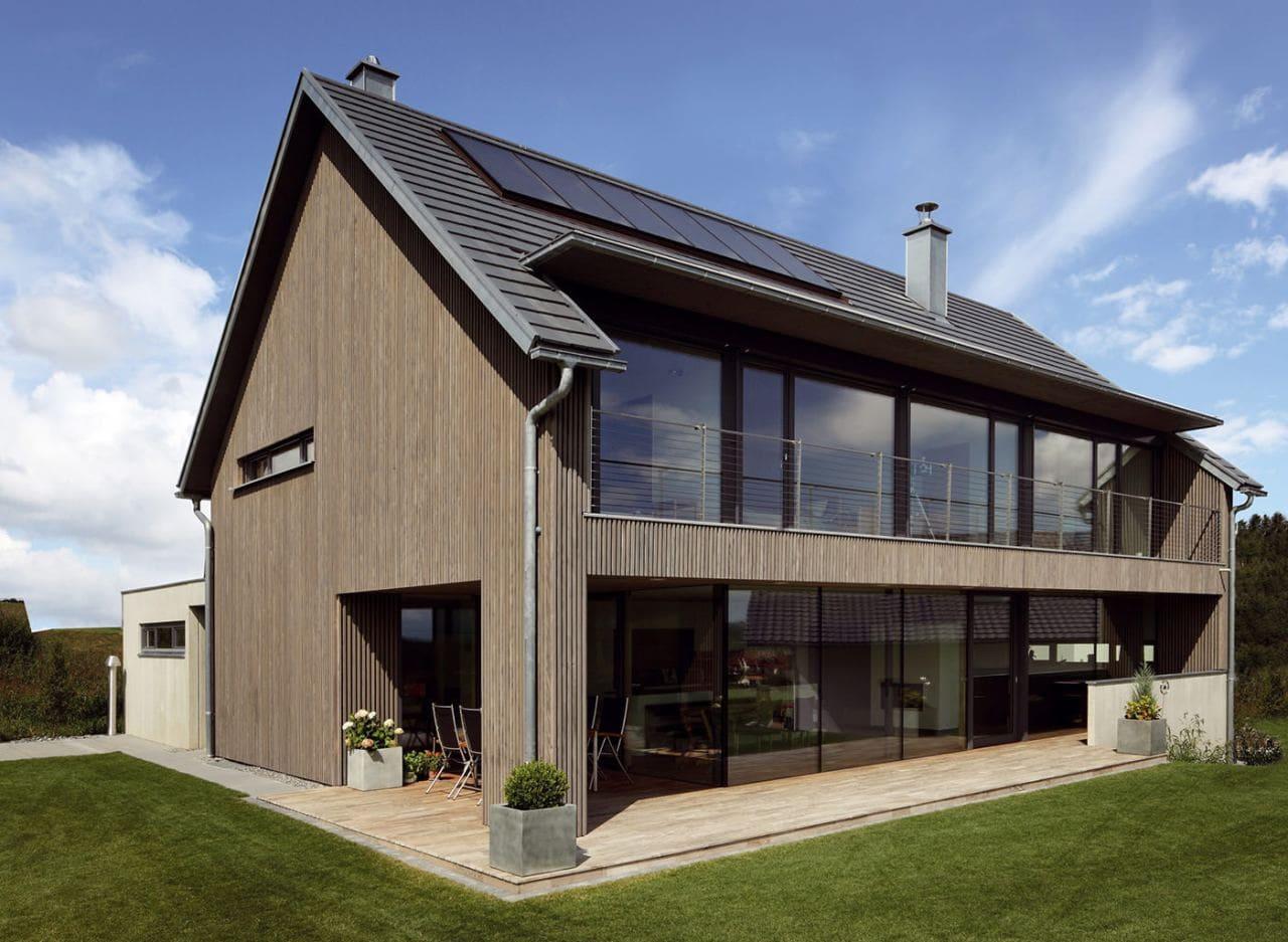 Красивые дома - фото лучших проектов 011
