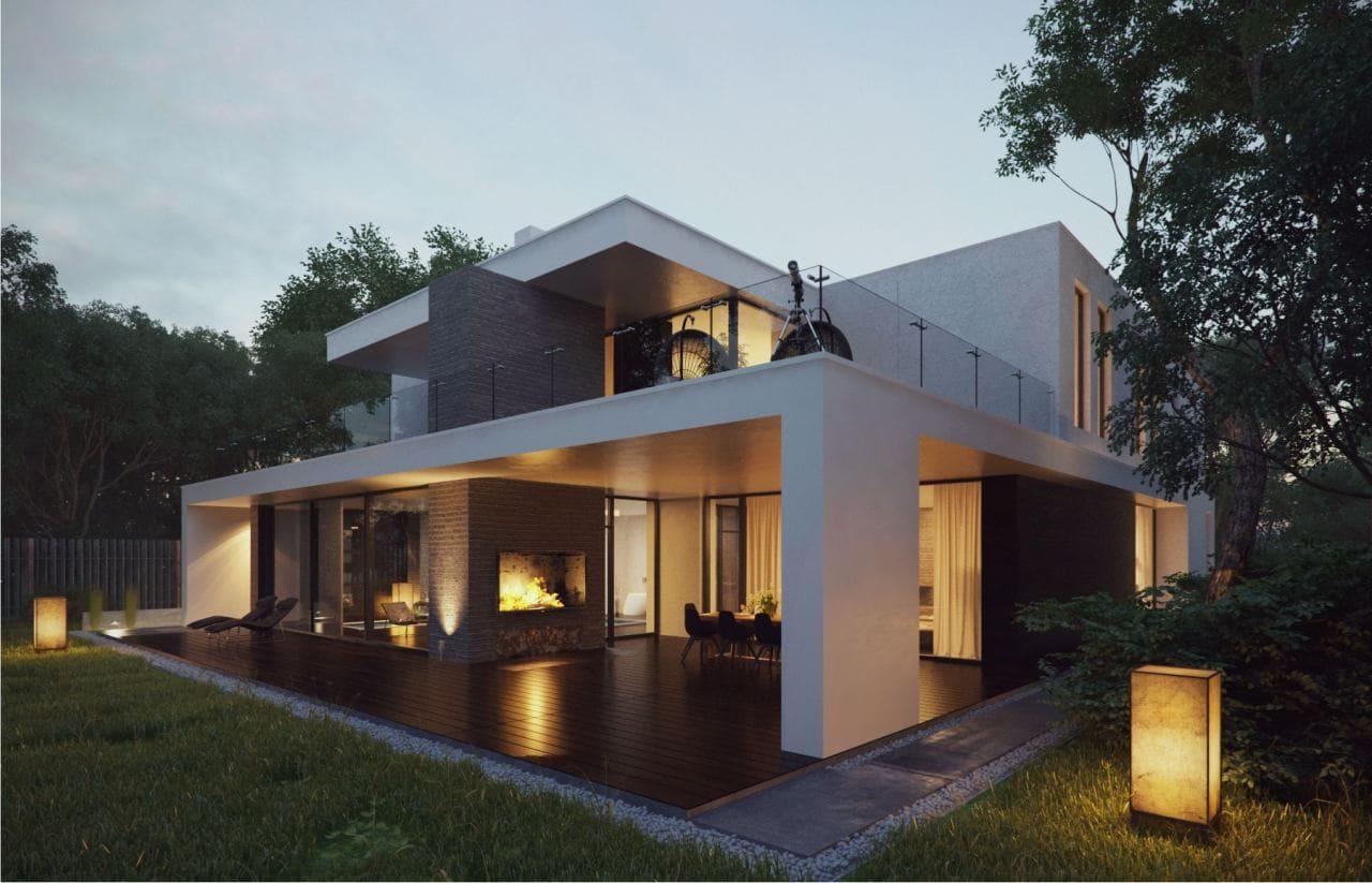 Красивые дома - фото лучших проектов 013