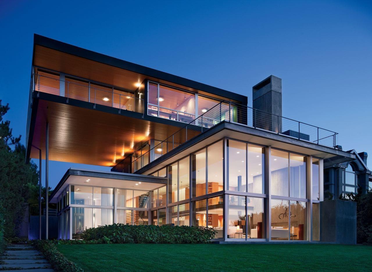 Красивые дома - фото лучших проектов 014