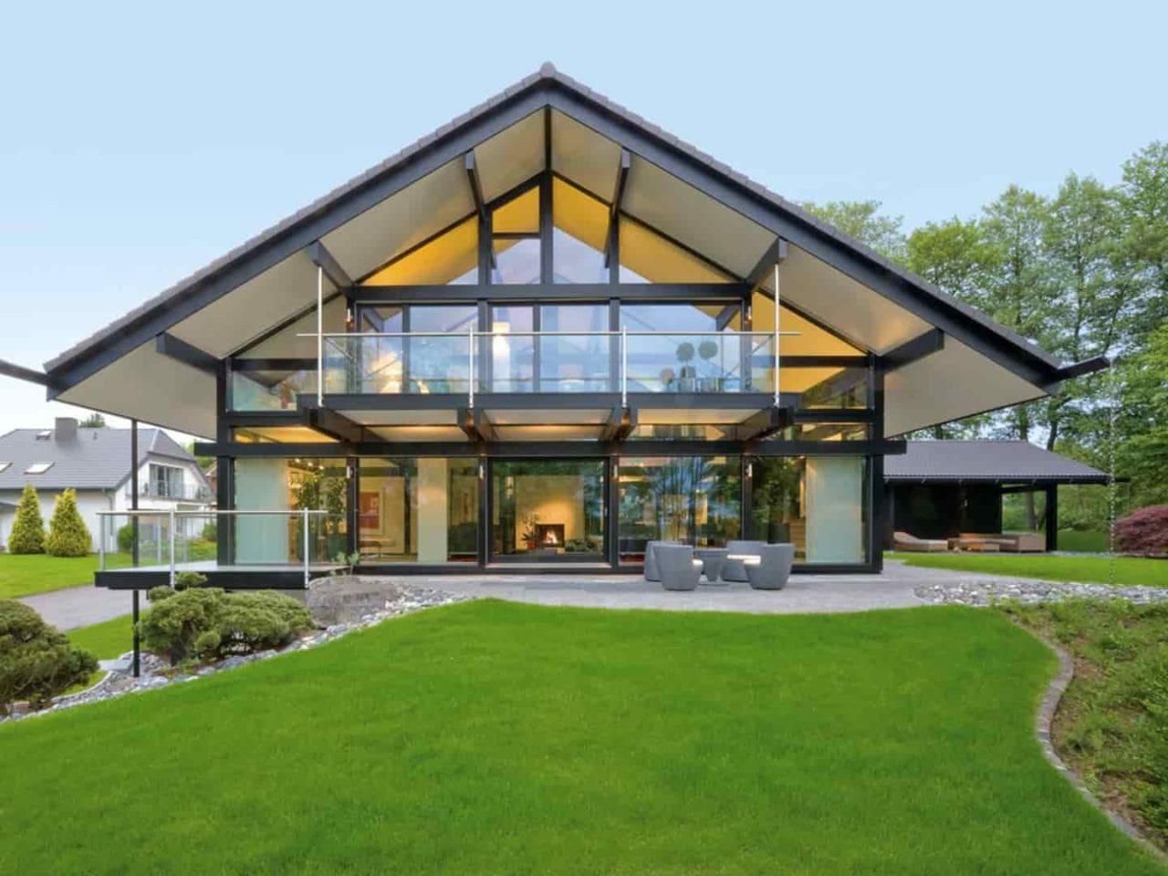 Красивые дома - фото лучших проектов 015