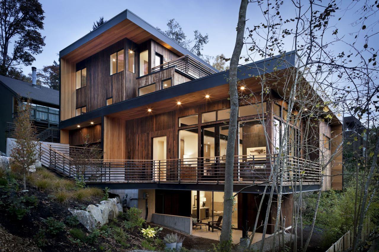 Красивые дома - фото лучших проектов 031