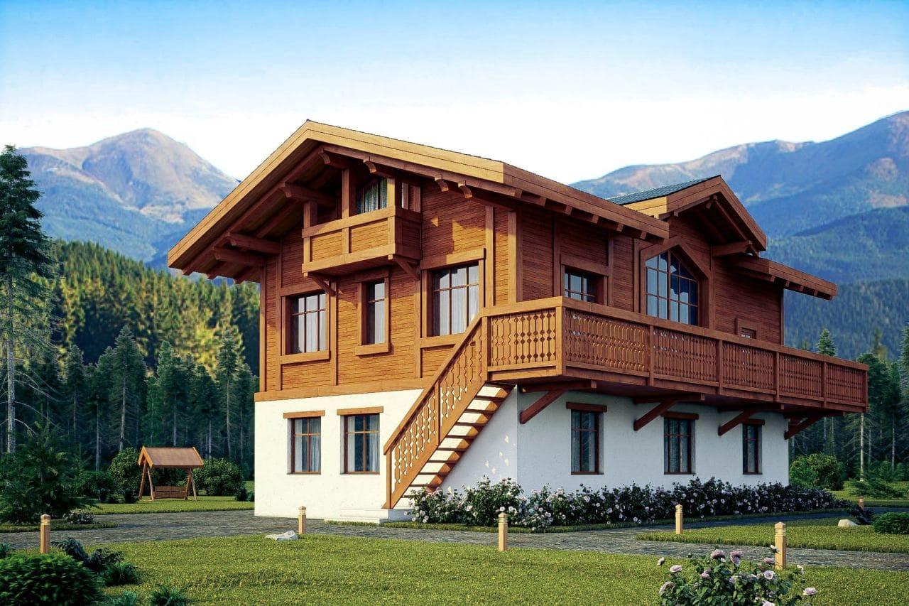 Красивые дома - фото лучших проектов 033