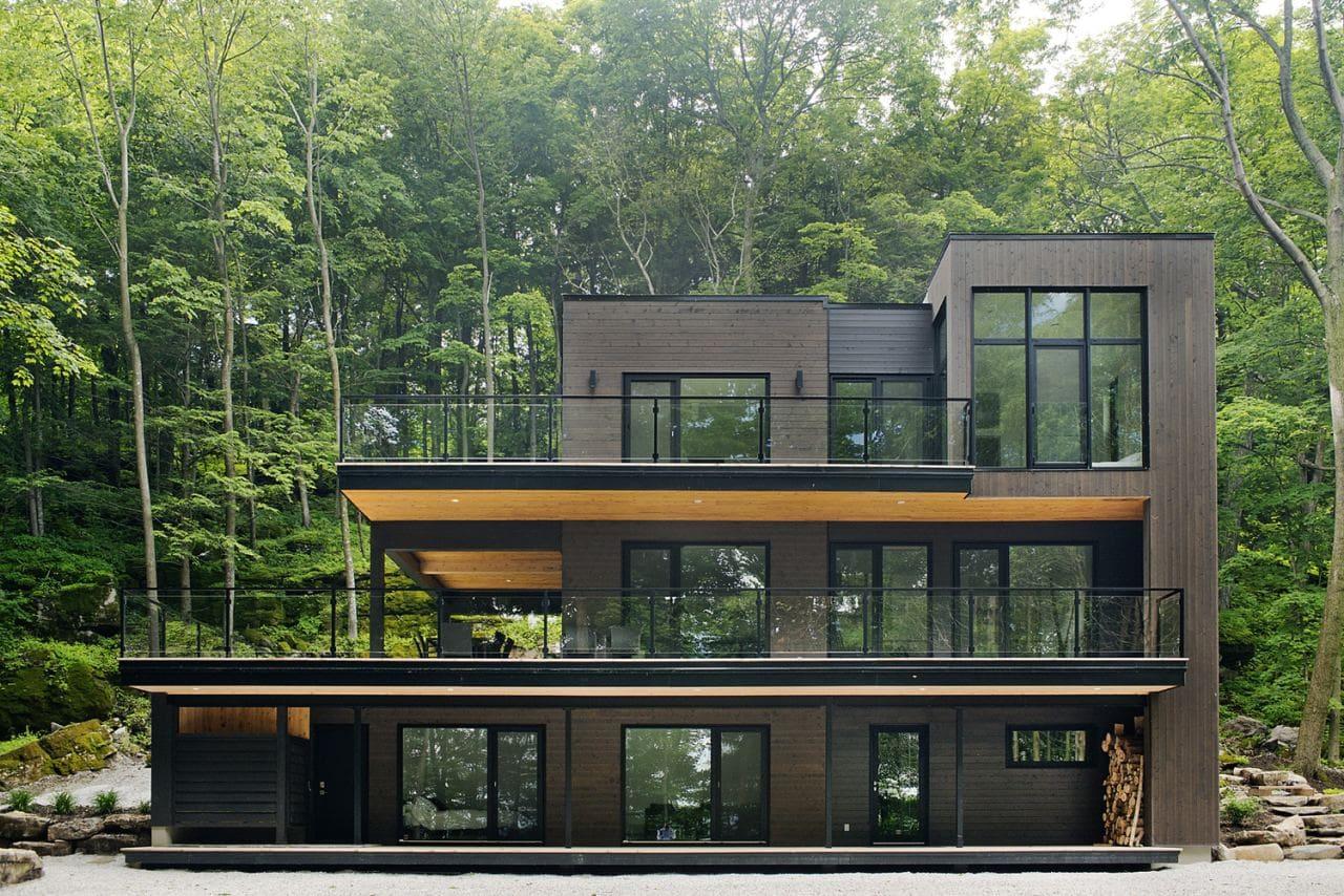 Красивые дома - фото лучших проектов 038