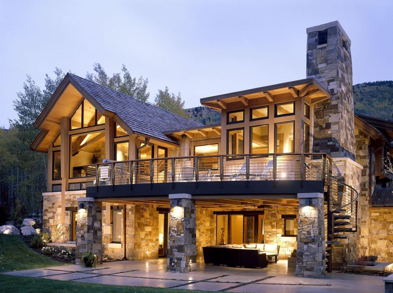 Красивые дома - фото лучших проектов 045