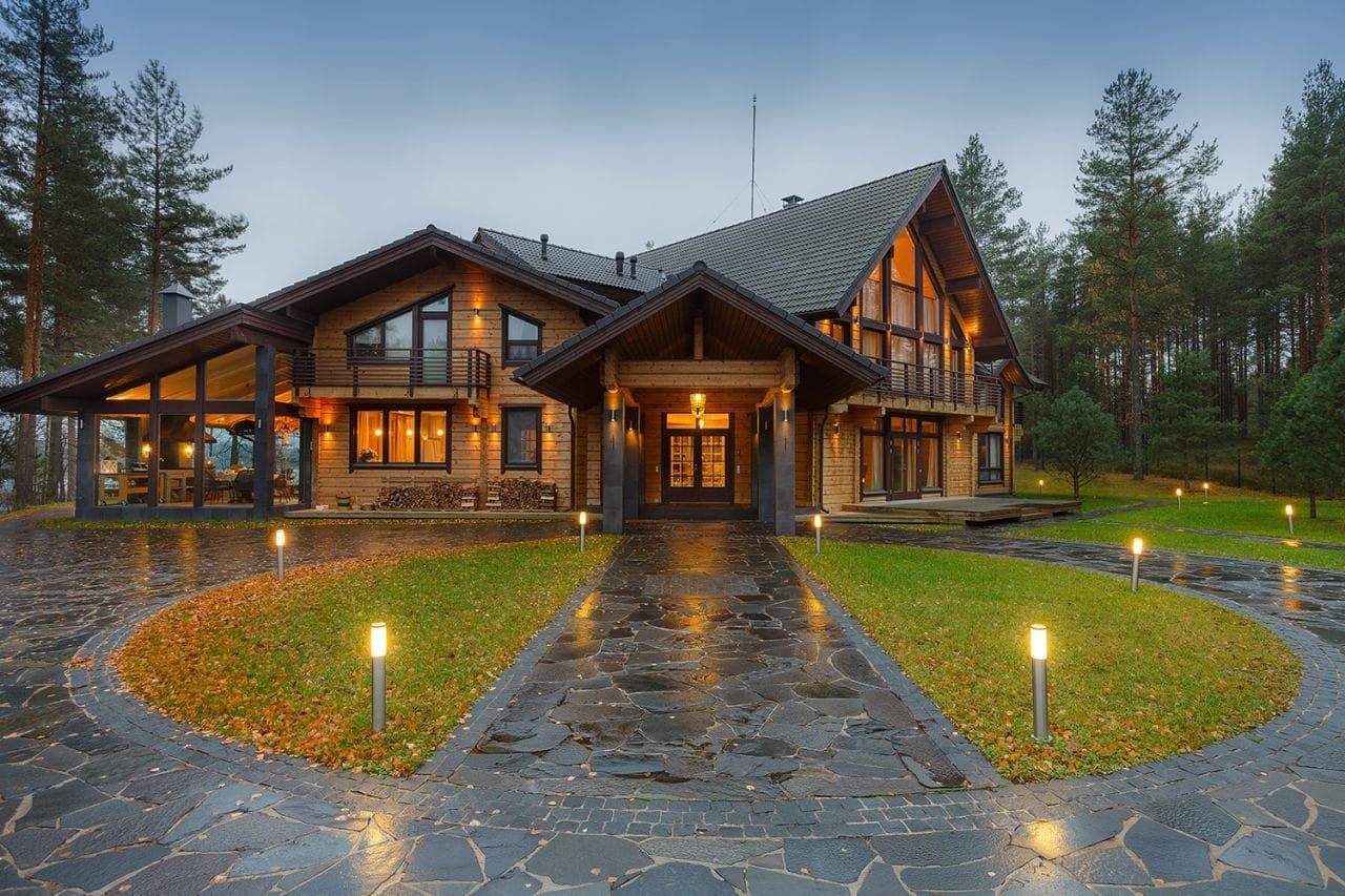 Красивые дома - фото лучших проектов 055