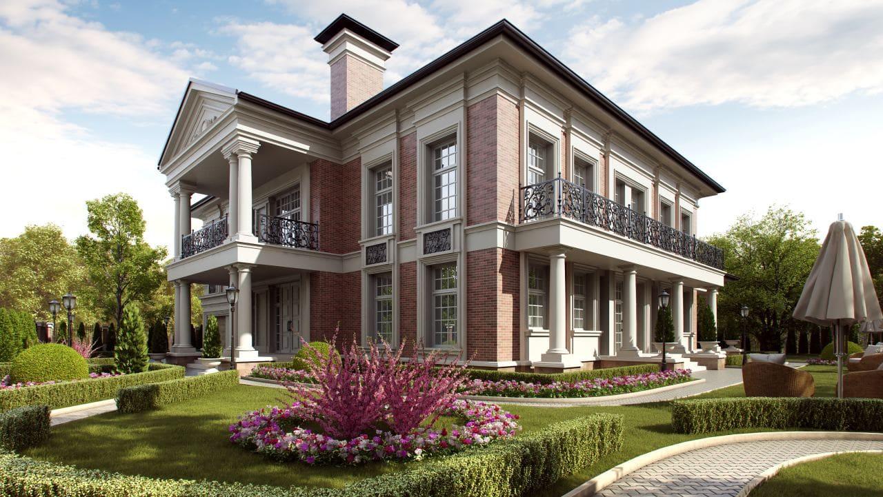 Красивые дома - фото лучших проектов 061