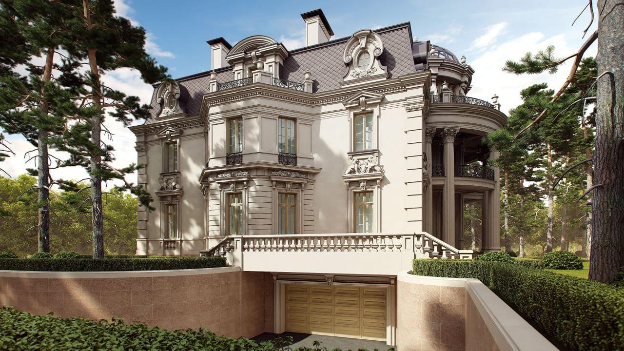 Красивые дома - фото лучших проектов 063