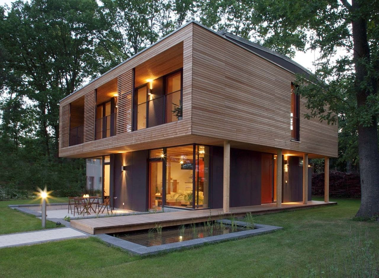 Красивые дома - фото лучших проектов 072