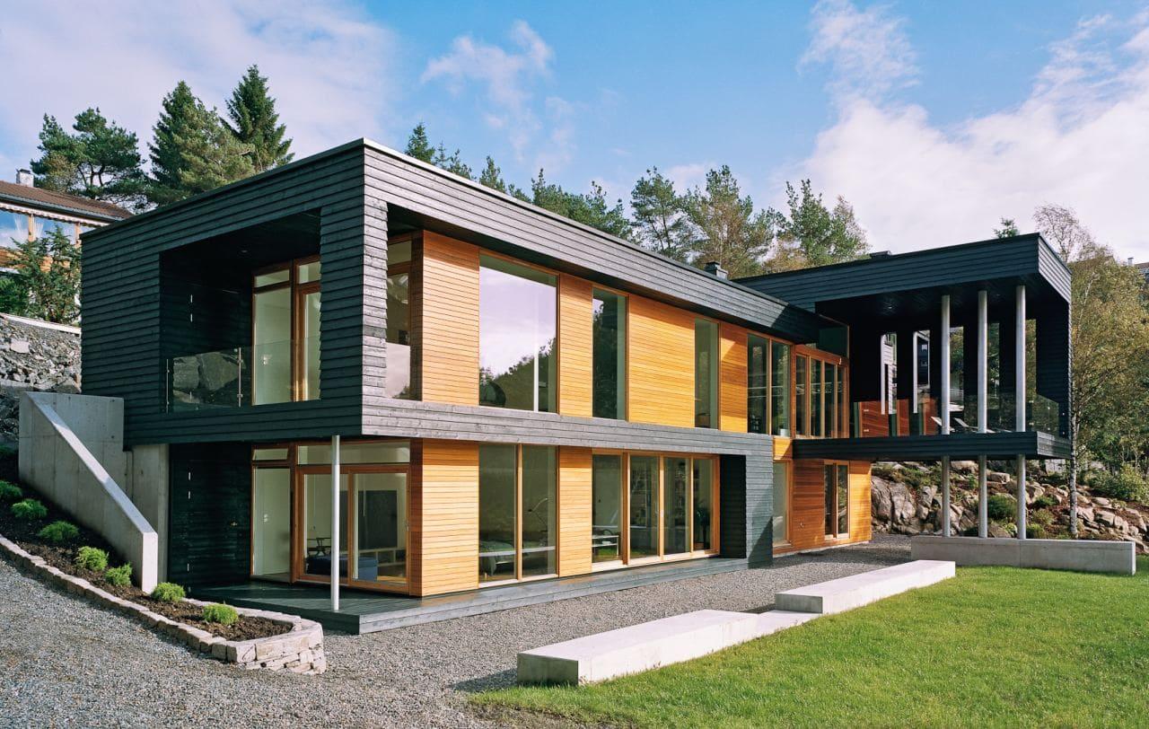 Красивые дома - фото лучших проектов 073