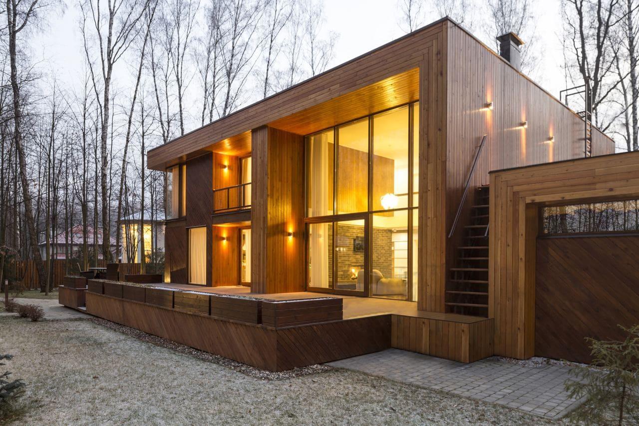 Красивые дома - фото лучших проектов 074