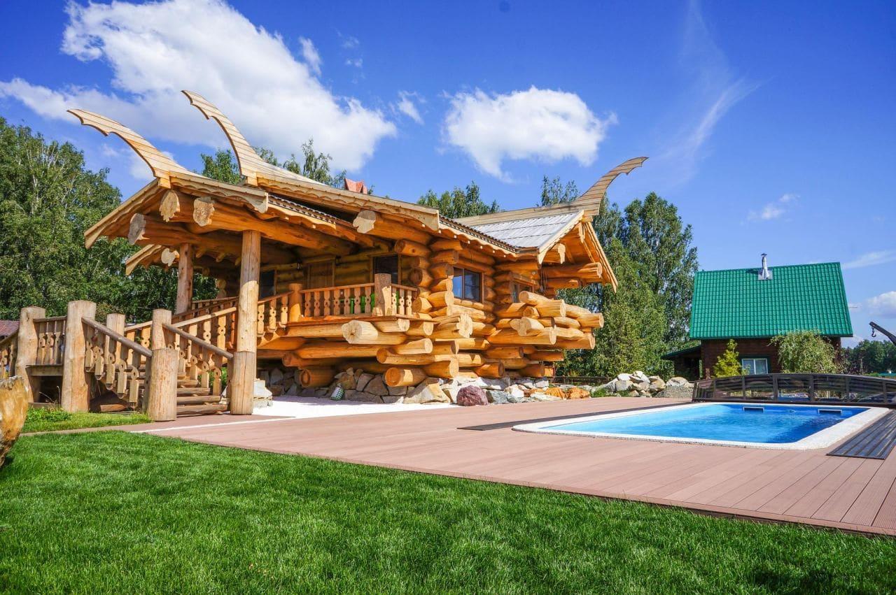 Красивые дома - фото лучших проектов 078