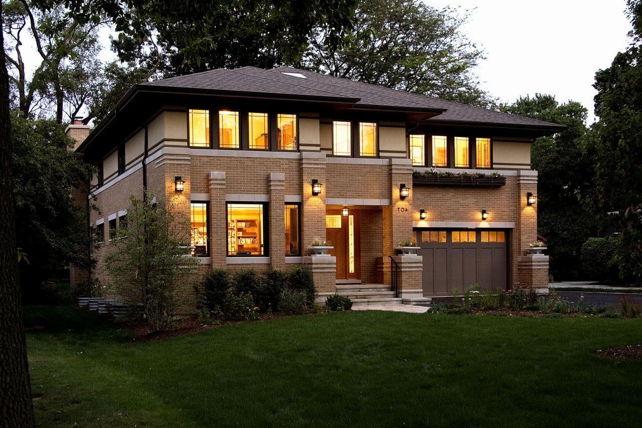 Красивые дома - фото лучших проектов 082