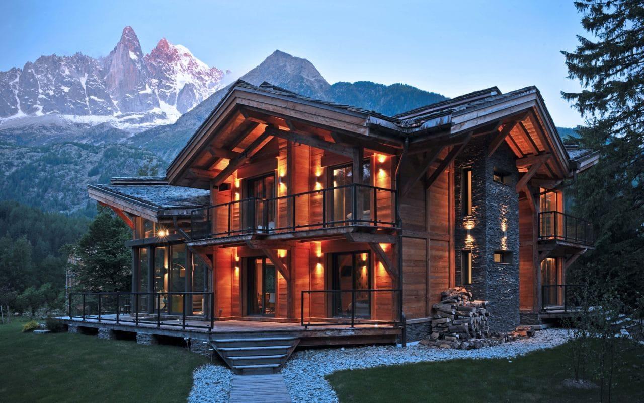 Красивые дома - фото лучших проектов 086