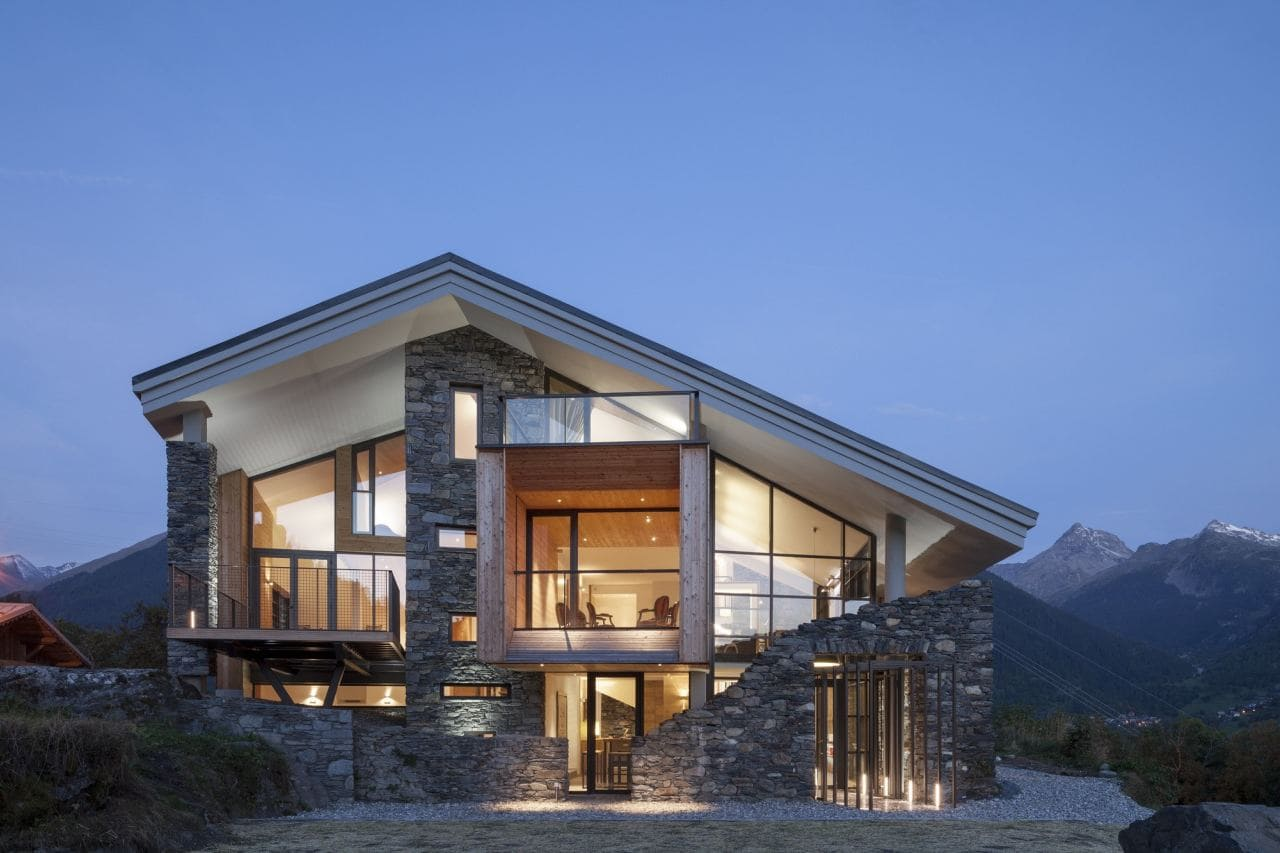 Красивые дома - фото лучших проектов 087