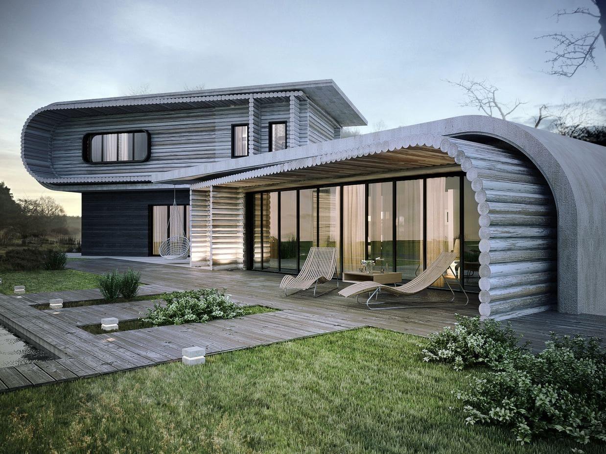 Красивые дома - фото лучших проектов 111