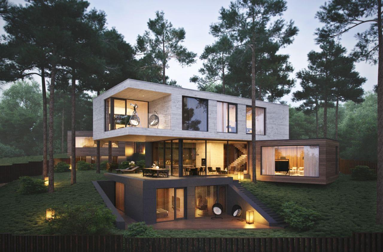 Красивые дома - фото лучших проектов 112