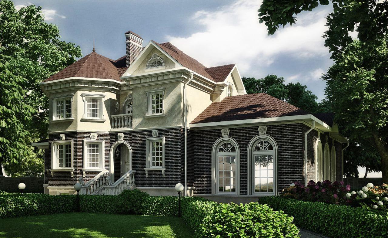 Красивые дома - фото лучших проектов 124