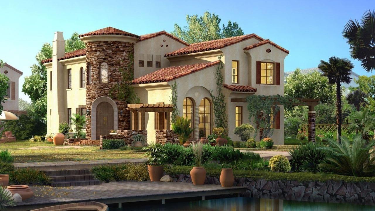 Красивые дома - фото лучших проектов 128