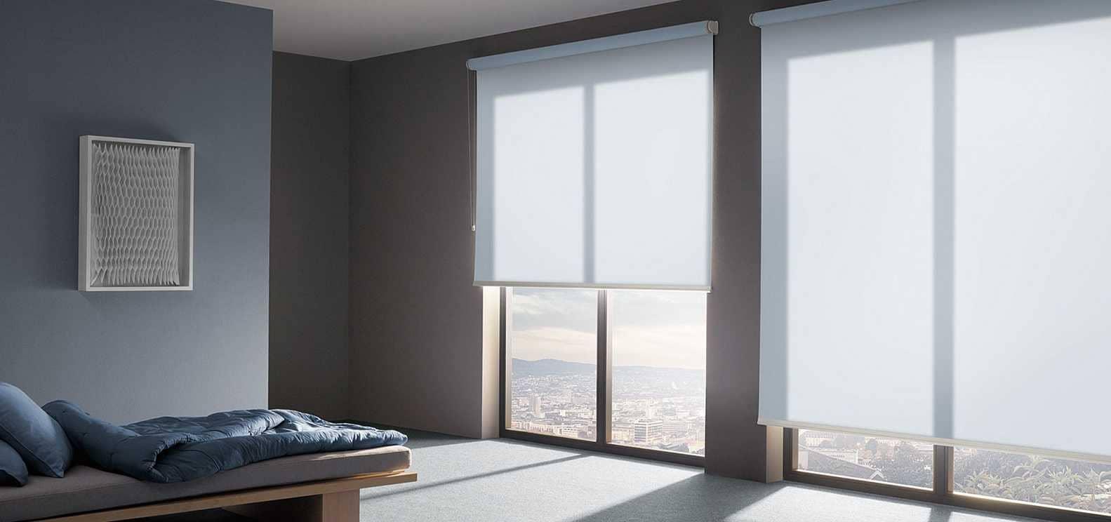 Рулонные шторы - плюсы и минусы установки, выбор материалов 002