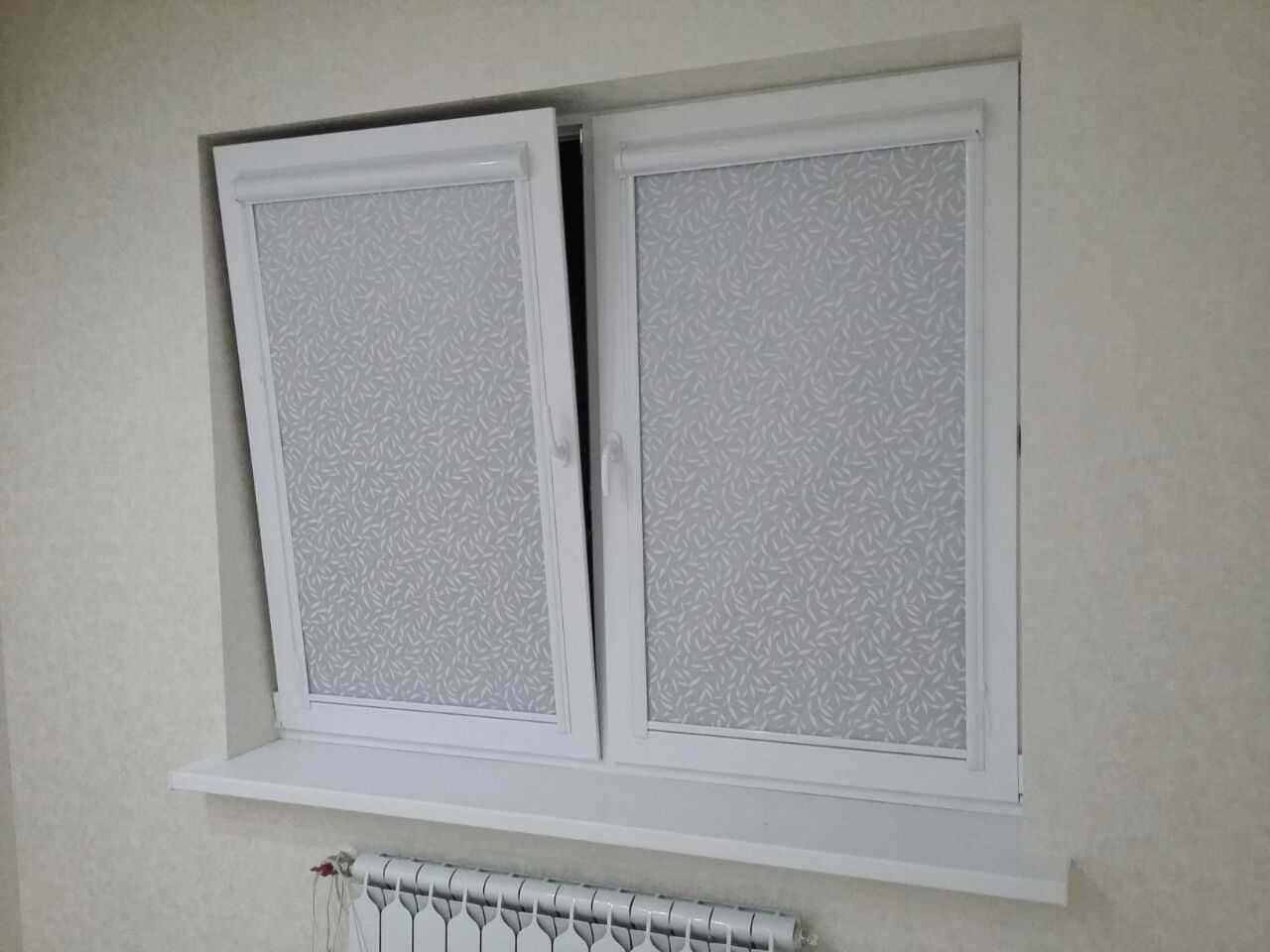 Рулонные шторы - плюсы и минусы установки, выбор материалов 004