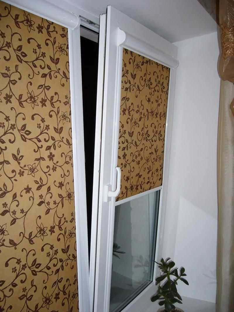 Рулонные шторы - плюсы и минусы установки, выбор материалов 019
