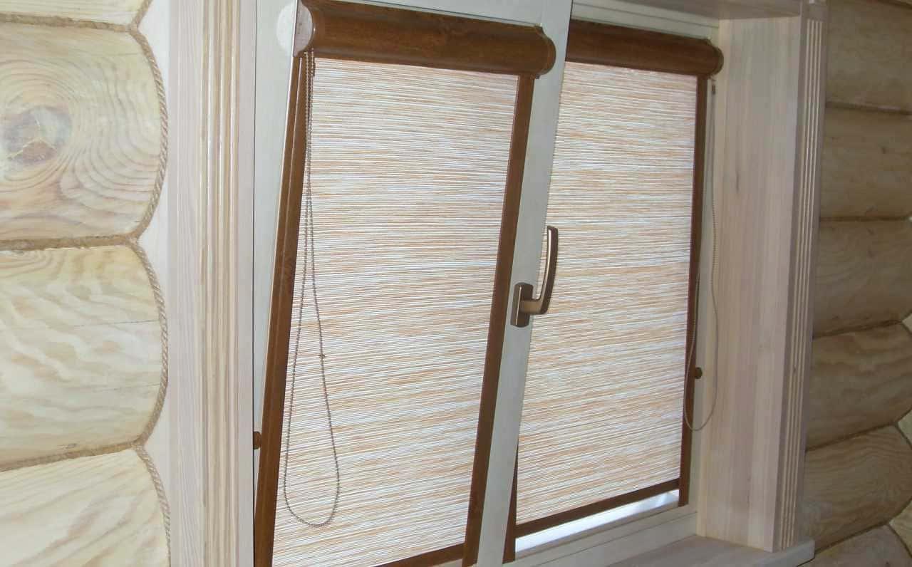 Рулонные шторы - плюсы и минусы установки, выбор материалов 021