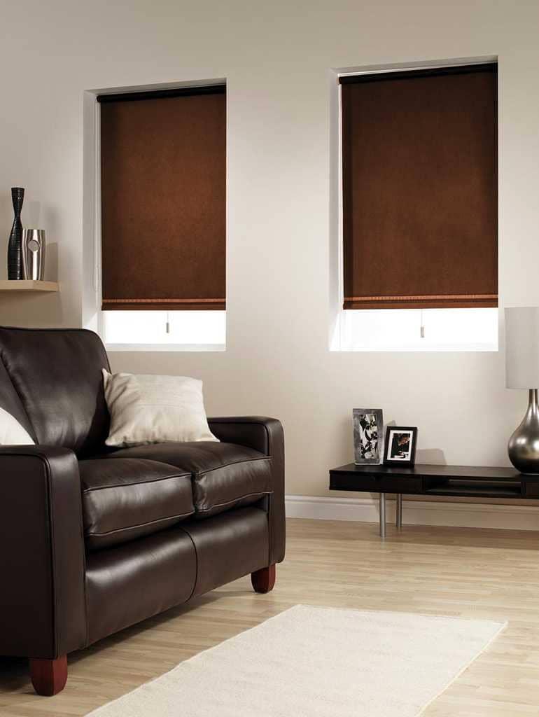Рулонные шторы - плюсы и минусы установки, выбор материалов 038