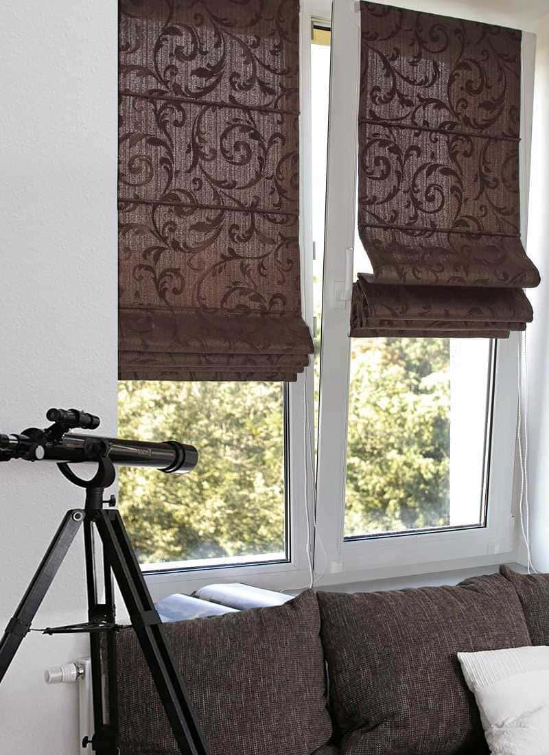 Рулонные шторы - плюсы и минусы установки, выбор материалов 039