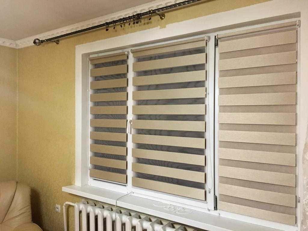 Рулонные шторы - плюсы и минусы установки, выбор материалов 041