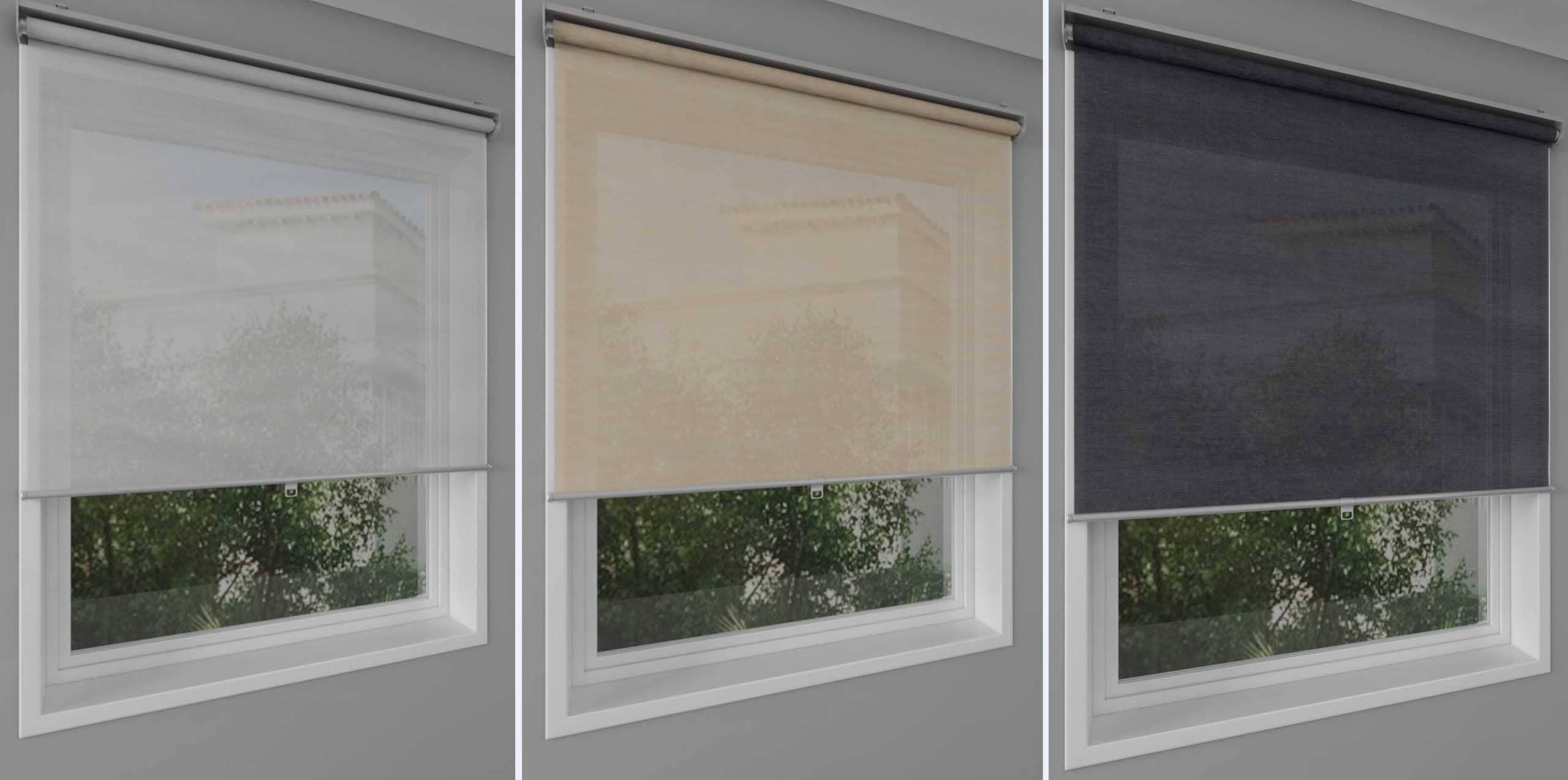 Рулонные шторы - плюсы и минусы установки, выбор материалов 074