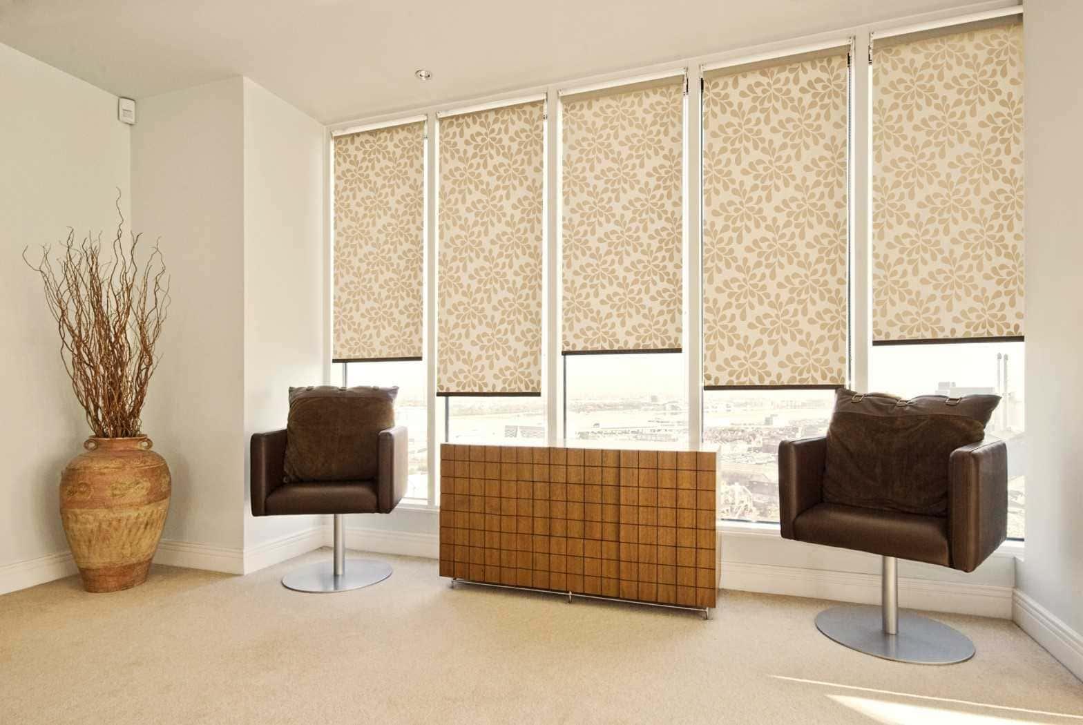 Рулонные шторы - плюсы и минусы установки, выбор материалов 079
