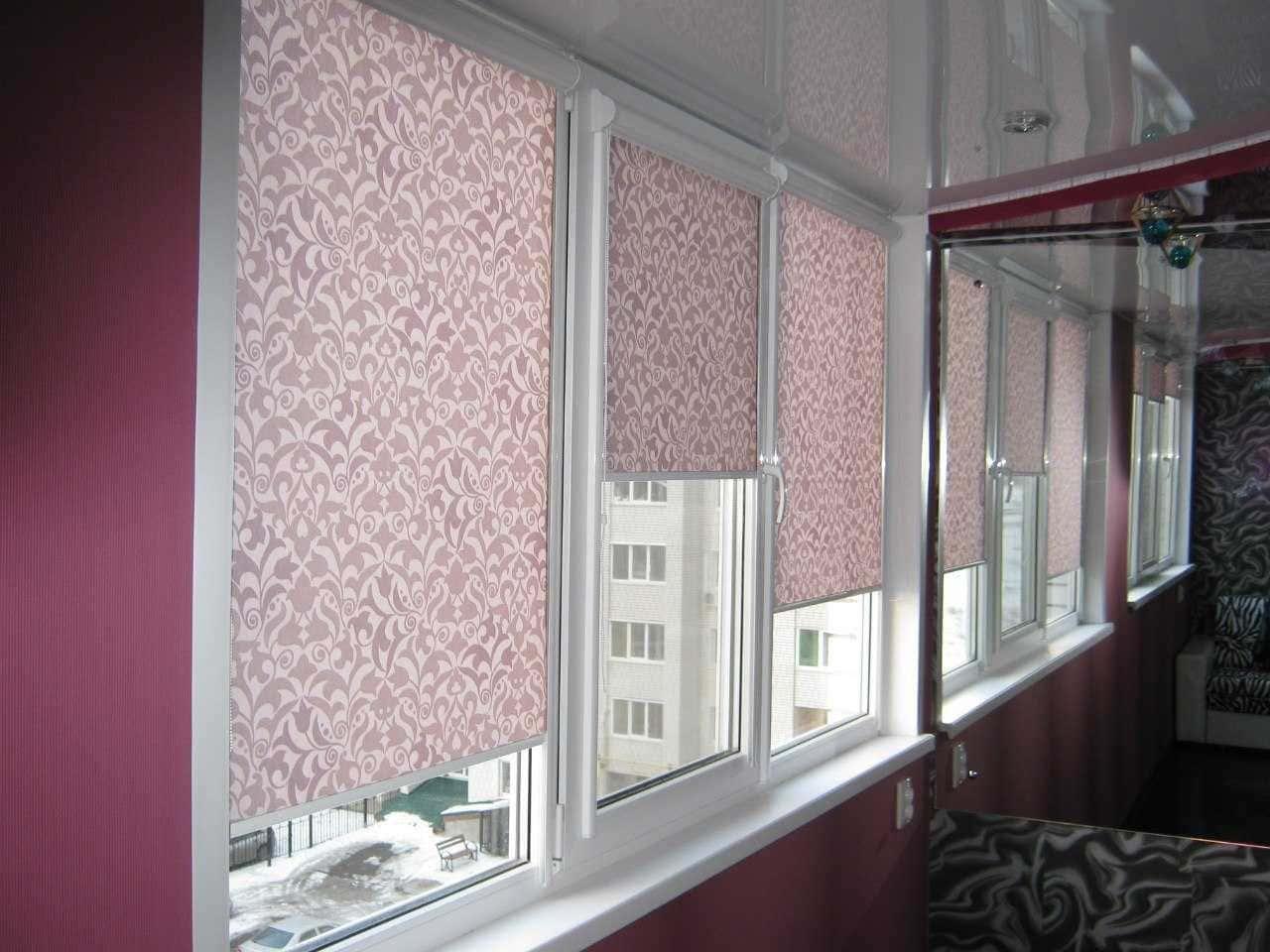 Рулонные шторы - плюсы и минусы установки, выбор материалов 086