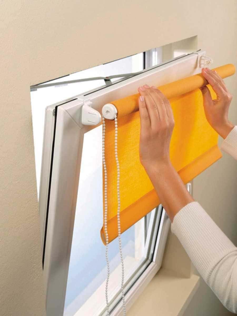 Рулонные шторы - плюсы и минусы установки, выбор материалов 099