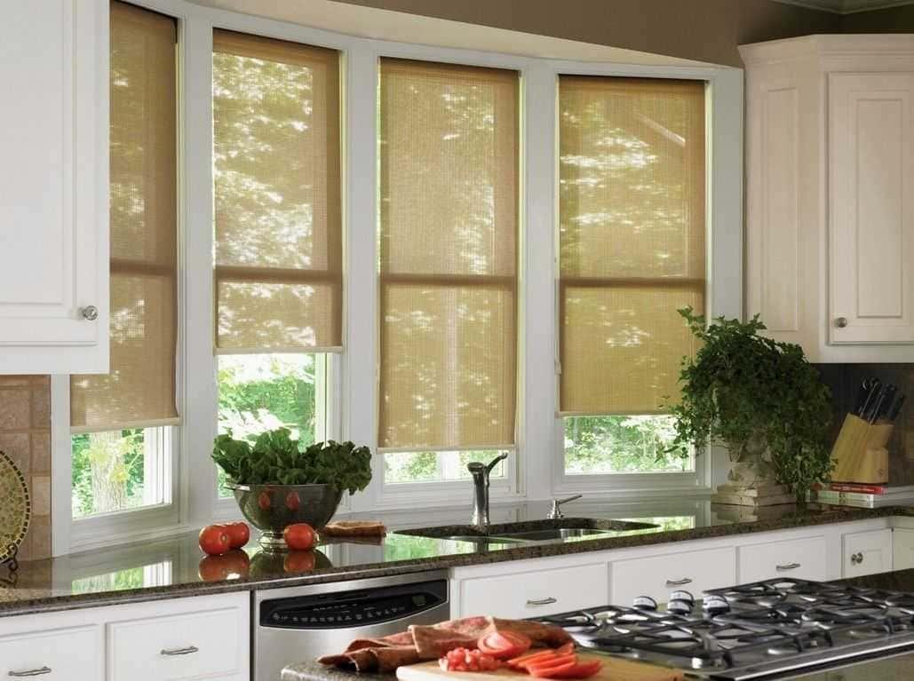 Рулонные шторы - плюсы и минусы установки, выбор материалов 124