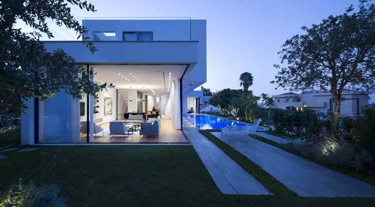 Самые красивые частные дома в мире 079