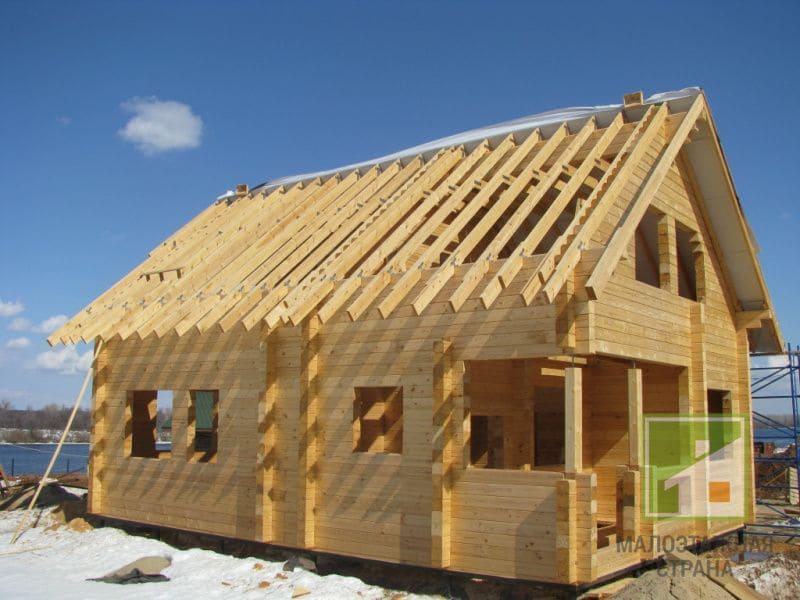 Строительство дома из бруса - виды строительного бруса 01
