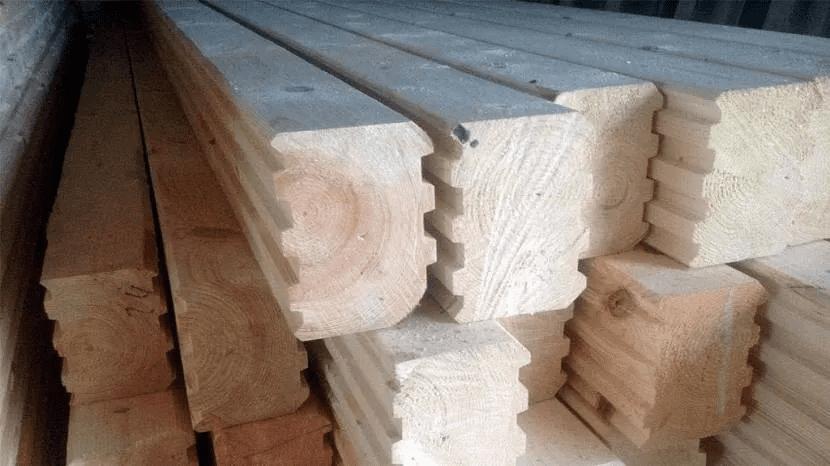 Строительство дома из бруса - виды строительного бруса 04