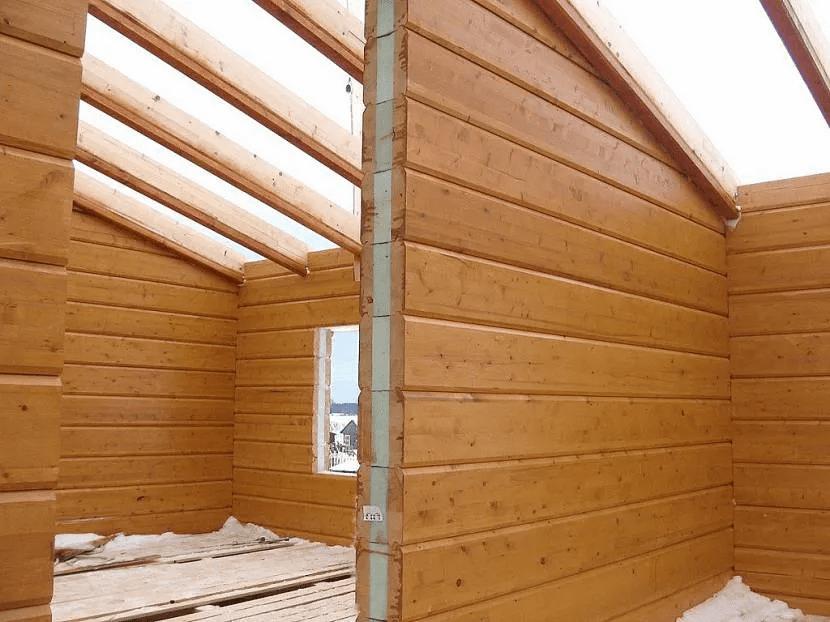 Строительство дома из бруса - виды строительного бруса 06