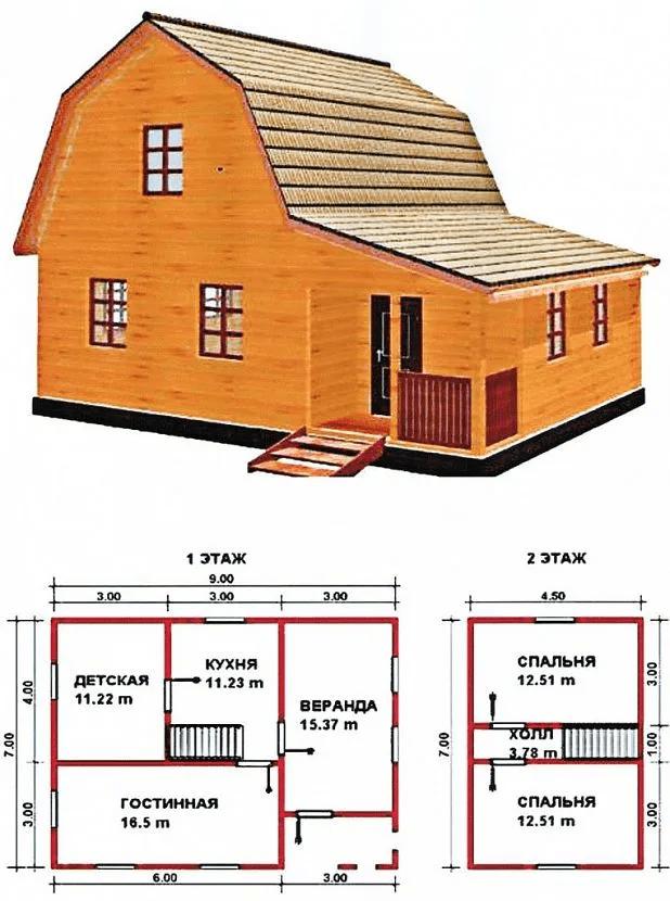 Строительство дома из бруса - виды строительного бруса 10