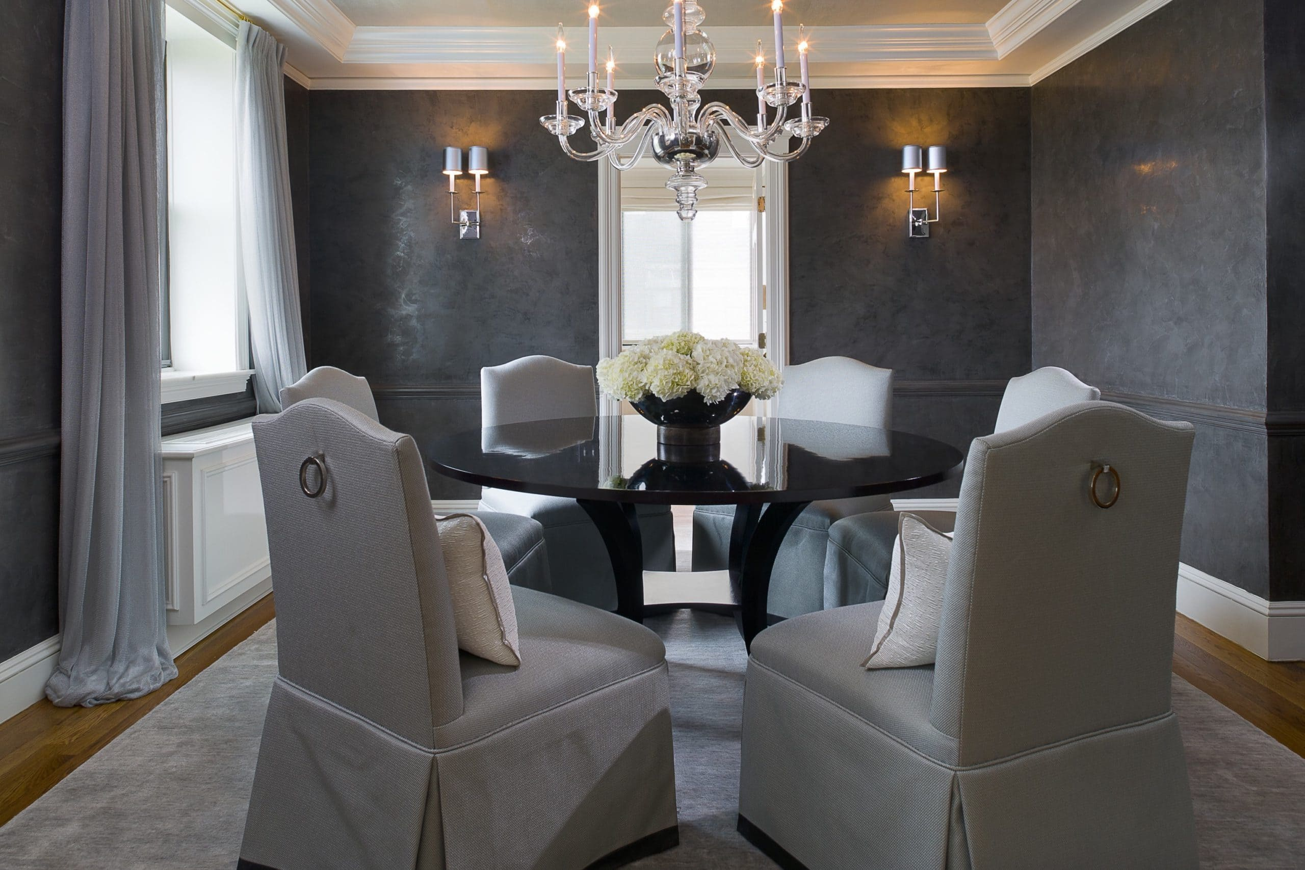Декоративная штукатурка - лучшие красивые варианты отделки стен в интерьере 003