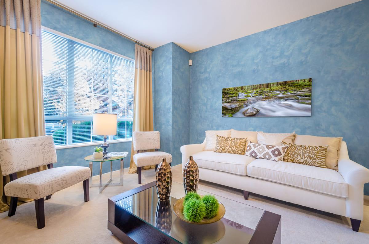 Декоративная штукатурка - лучшие красивые варианты отделки стен в интерьере 004