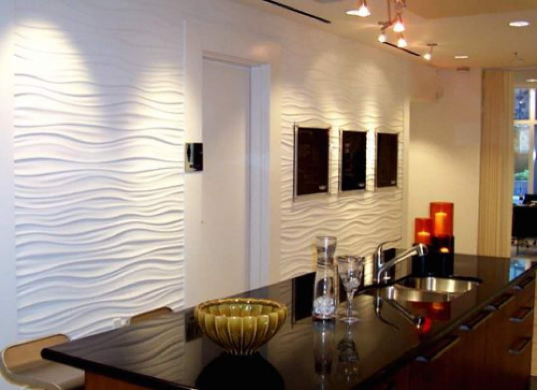 Декоративная штукатурка - лучшие красивые варианты отделки стен в интерьере 010