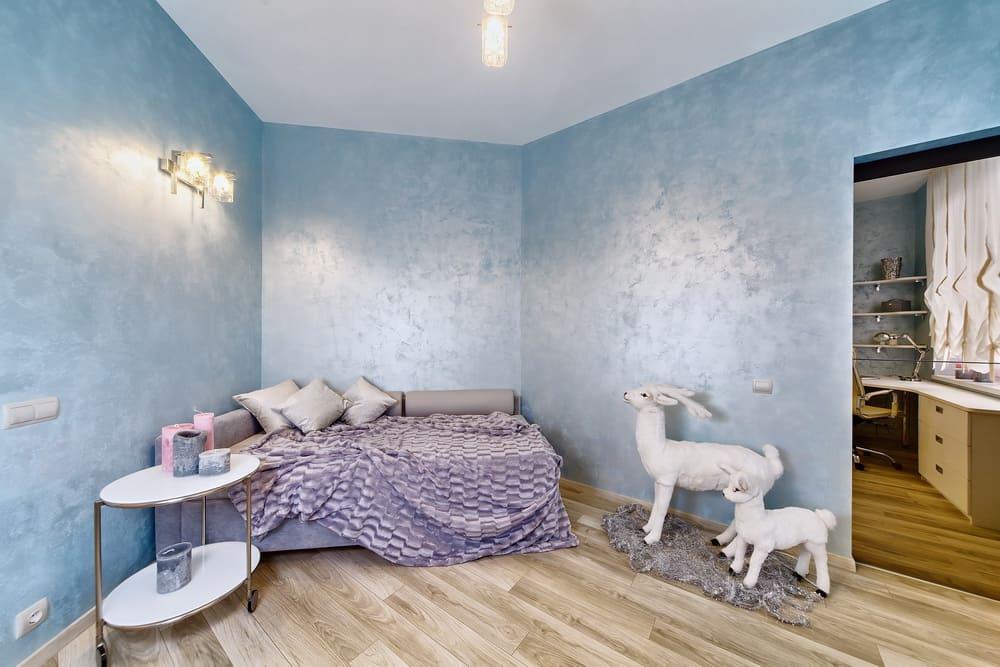 Декоративная штукатурка - лучшие красивые варианты отделки стен в интерьере 012