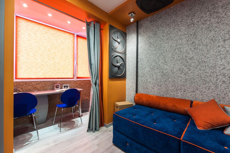 Декоративная штукатурка - лучшие красивые варианты отделки стен в интерьере 014