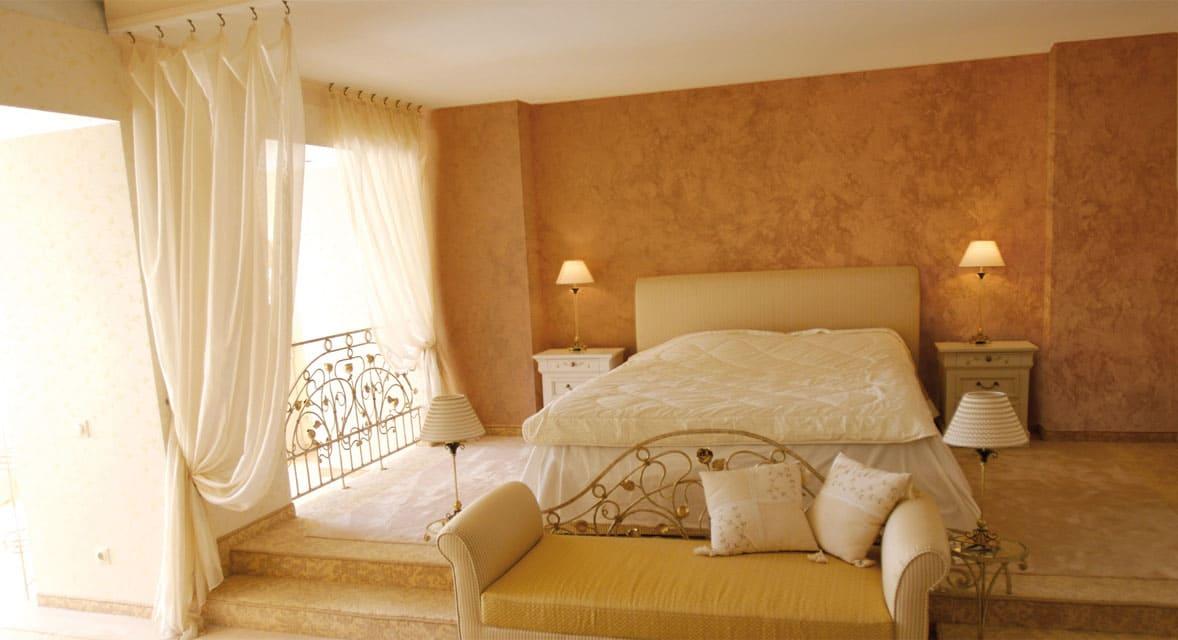 Декоративная штукатурка - лучшие красивые варианты отделки стен в интерьере 015