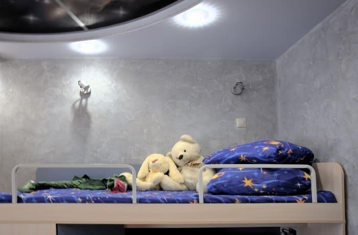 Декоративная штукатурка - лучшие красивые варианты отделки стен в интерьере 016
