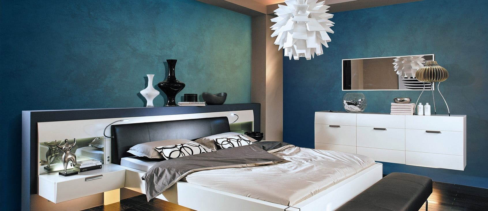 Декоративная штукатурка - лучшие красивые варианты отделки стен в интерьере 017